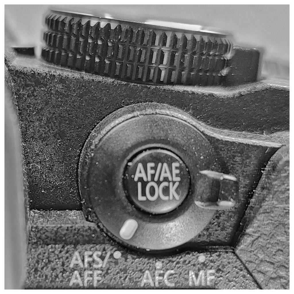 Panasonic Lumix G85 External Focus Type Button