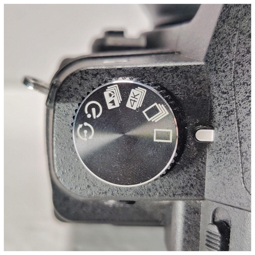 Panasonic Lumix G85 Drive Mode Dial